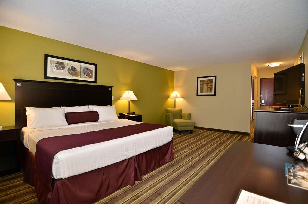 Best Western Plus Anderson - Stay in one of our comfortable king guest rooms.