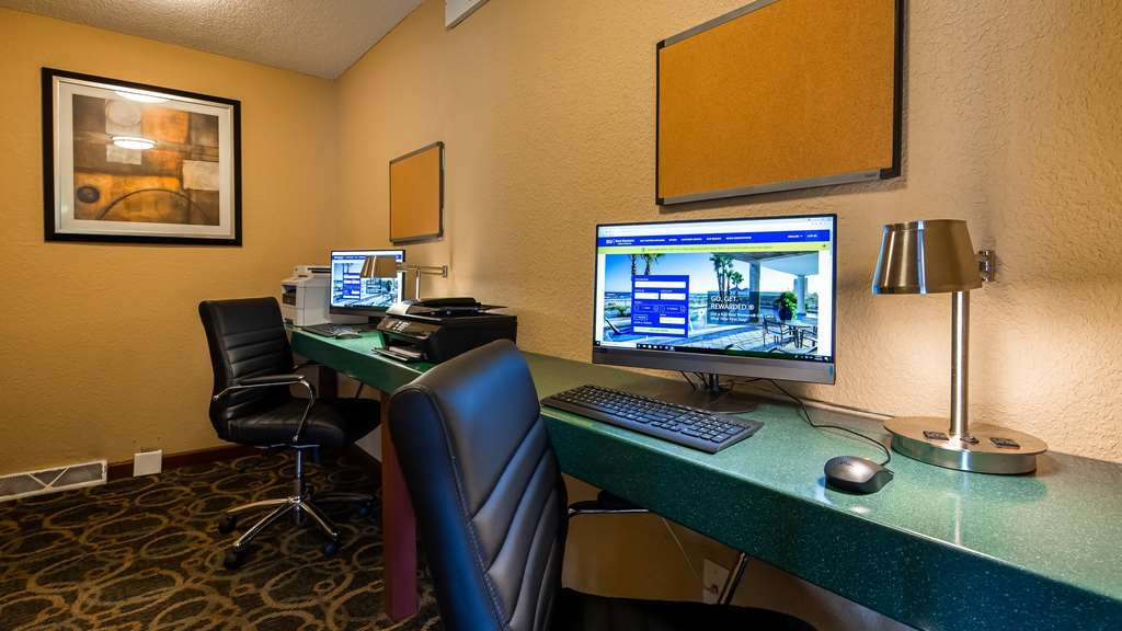 Best Western Plus Anderson - Stay productive during your time away from home in our 24-hour business center.