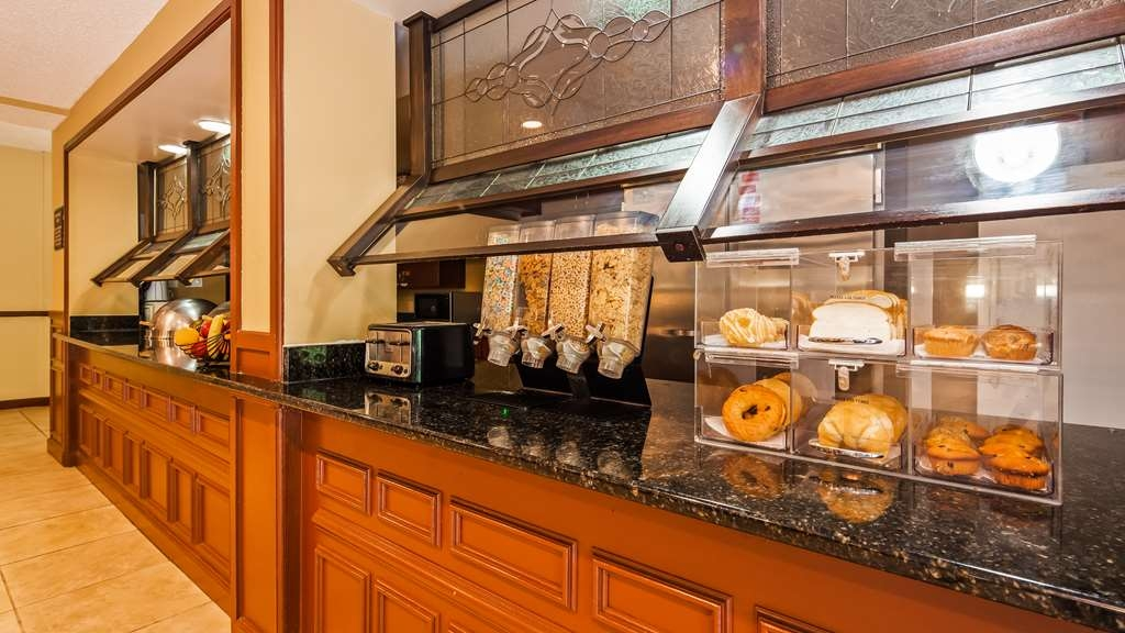 Best Western Plus Anderson - Our complimentary, hot breakfast buffet, features traditional breakfast favorites.
