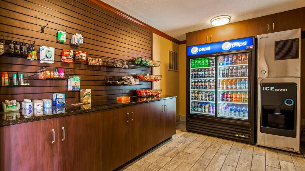 Best Western Plus Anderson - Enjoy 24-hour access to our vending area featuring a wide selection of satisfying snacks and beverages.