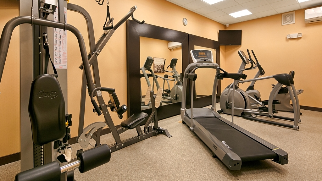 Best Western Plus French Lick - There is no need to take a break from your regular fitness routine during your stay with us.