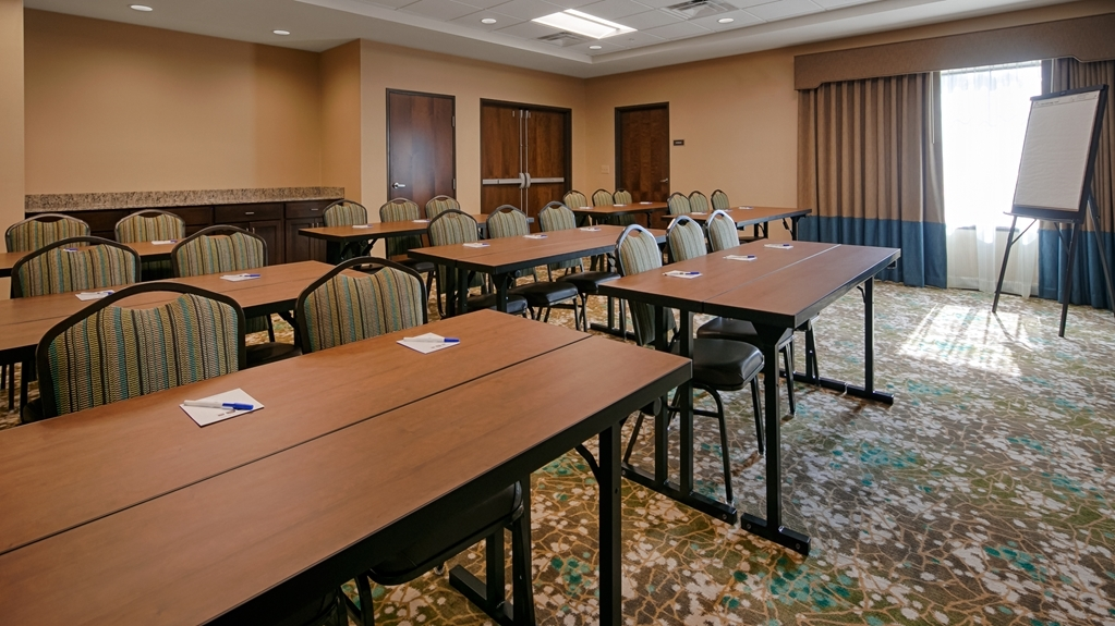 Best Western Plus French Lick - We are happy to set our Blake Meeting Room as you desire.