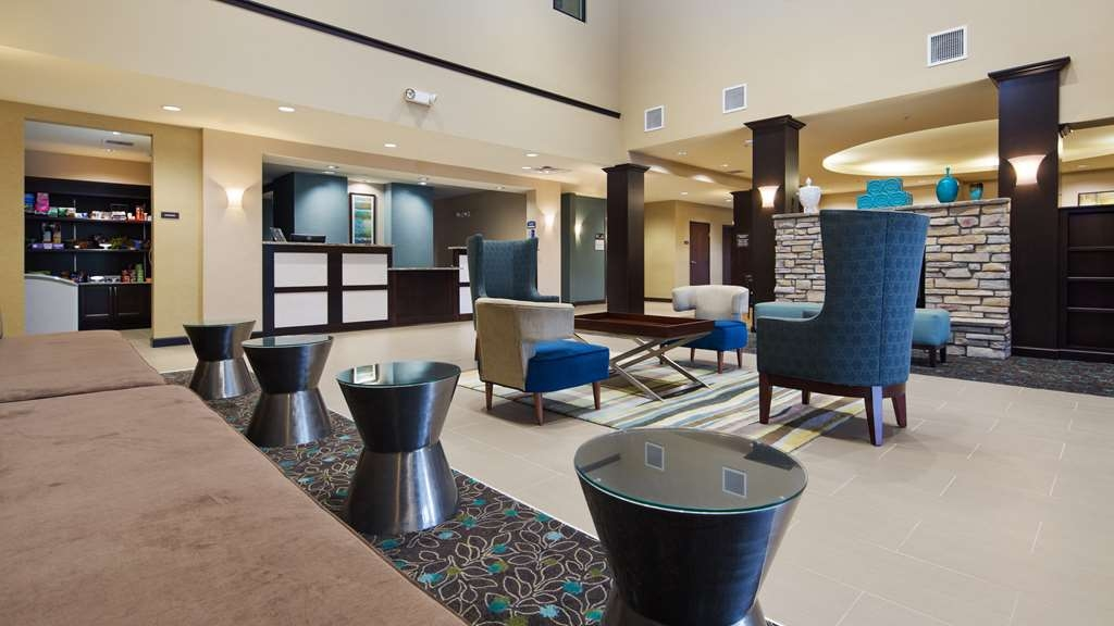 Best Western Plus French Lick - First impressions are the most important, and our chic lobby is no exception to that rule.