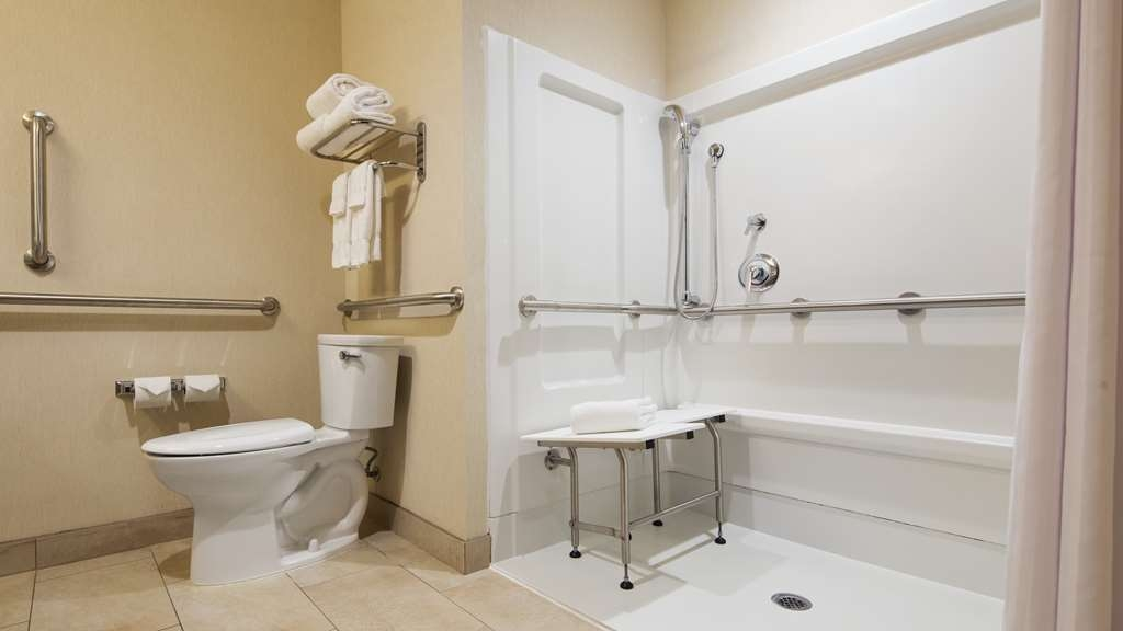 Best Western Plus French Lick - We designed our ADA mobility accessible rooms for easy wheelchairs access.