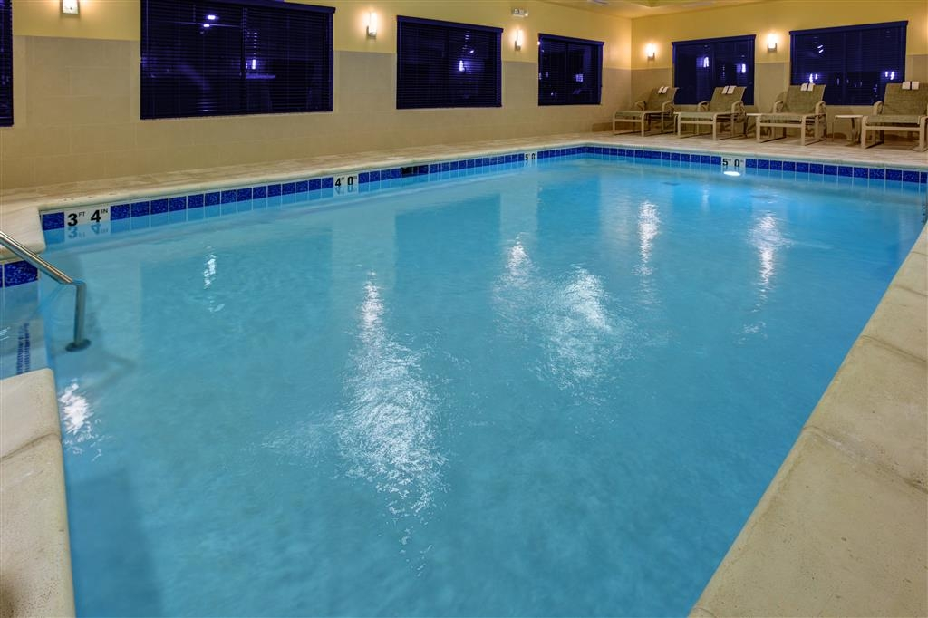 Best Western Plus French Lick - Relax in our heated indoor pool.