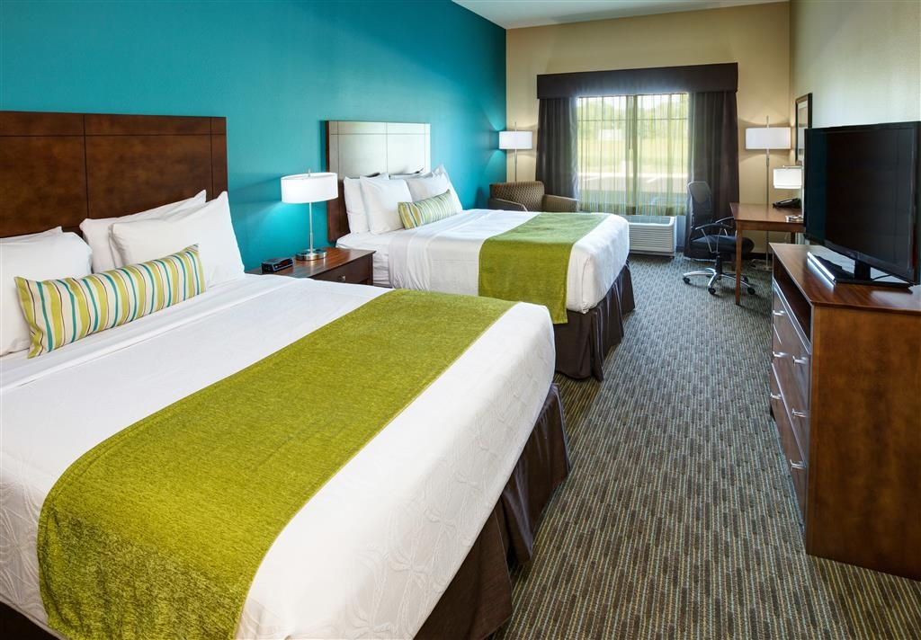 Best Western Plus French Lick - Make yourself at home in our 2 queen bed guest room.