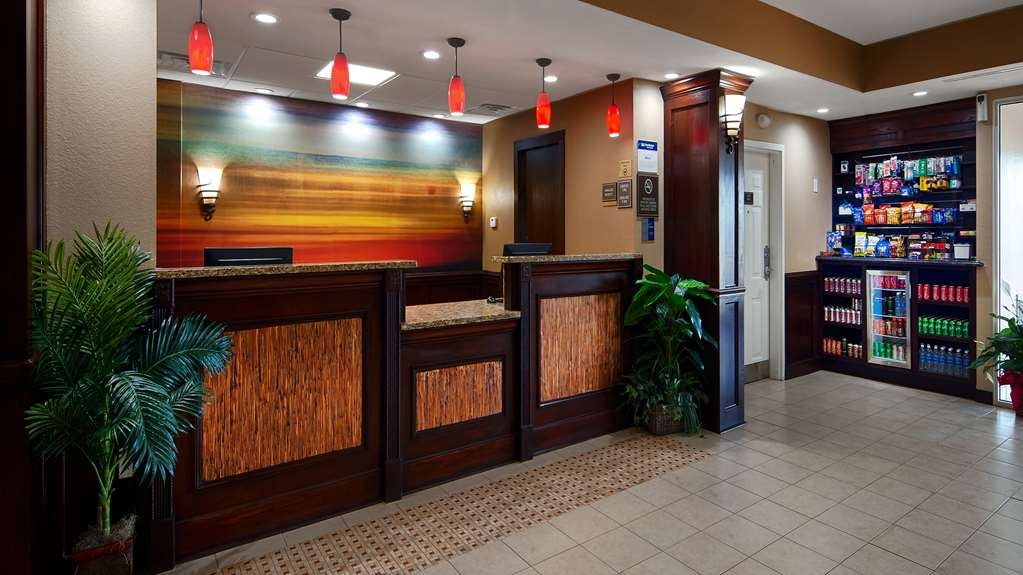 Best Western Plus Crawfordsville Hotel - Réception