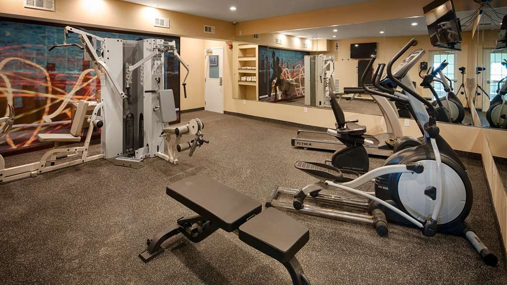 Best Western Plus Crawfordsville Hotel - Club de remise en forme
