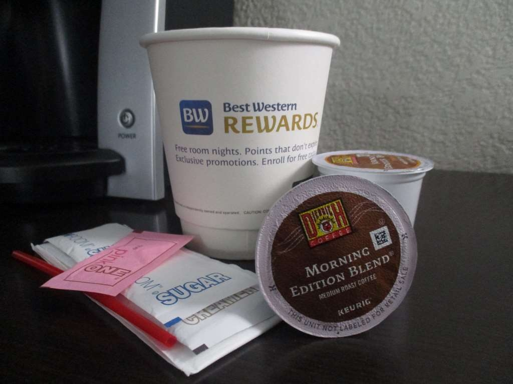 Best Western Plus Indianapolis NW Hotel - Enjoy fresh brewed coffee without leaving your guest room.