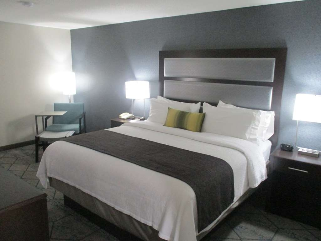 Best Western Plus Indianapolis NW Hotel - Our large king size rooms offer a place to relax or catch up on work.