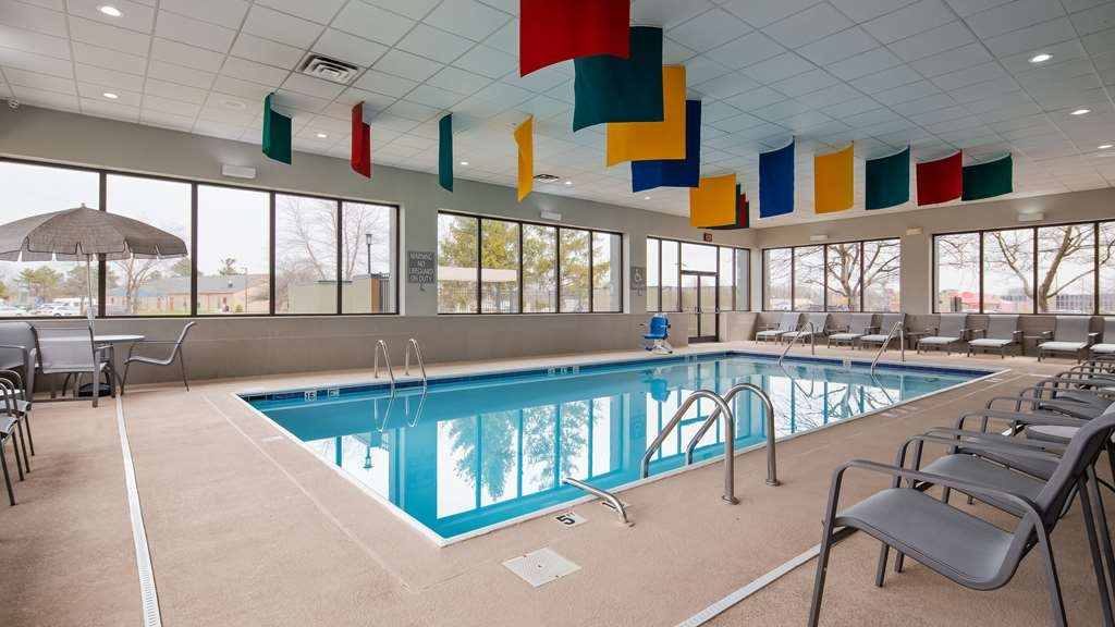 Best Western Plus Indianapolis NW Hotel - Jump into our heated indoor pool or sit out by the patio.