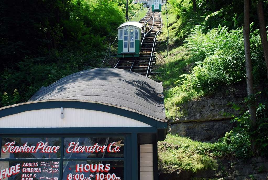 Best Western Plus Dubuque Hotel & Conference Center - Take a ride on The Fenelon Place Elevator the world's shortest steepest scenic railway.