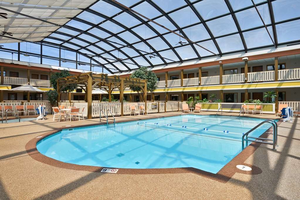 Best Western Plus Dubuque Hotel & Conference Center - Our heated indoor pool is ready year round.