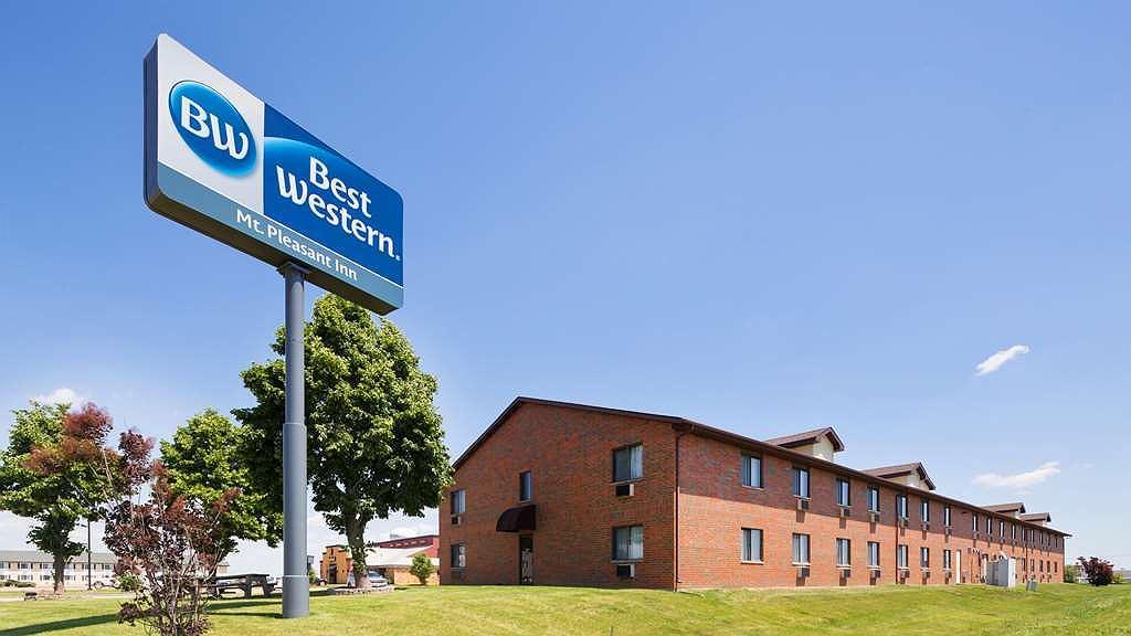 Best Western Mt. Pleasant Inn - Vista exterior