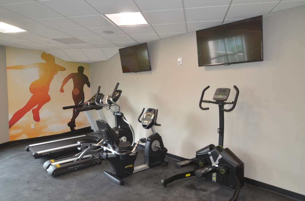 Best Western Premier Ankeny Hotel - Stay fit and healthy while you travel. Our fitness center includes cardio equipment, multi-weight station, free weights, and a yoga station with medicine balls.