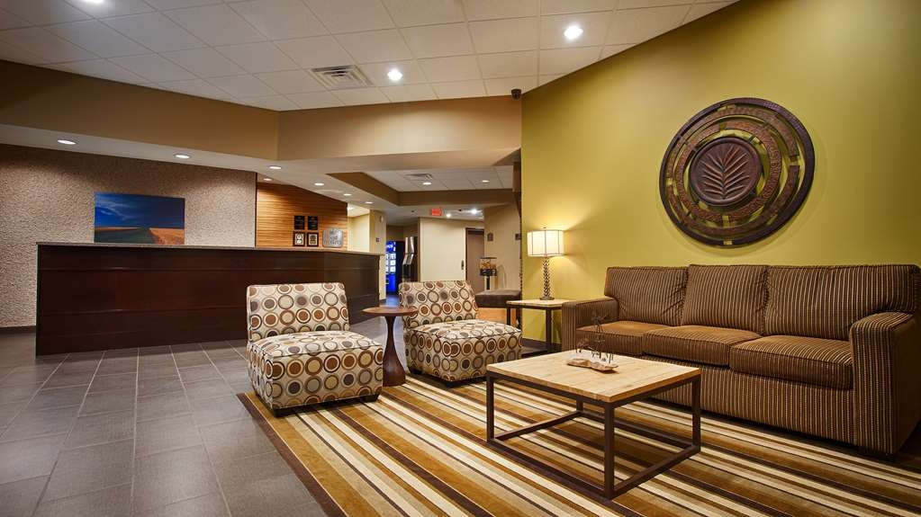 Best Western Plus Night Watchman Inn & Suites - Vue du lobby