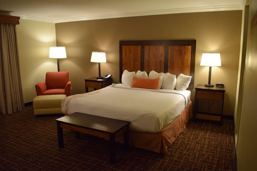 Best Western Wichita North - Relax after a long day in one of our spacious rooms with a king sized bed.