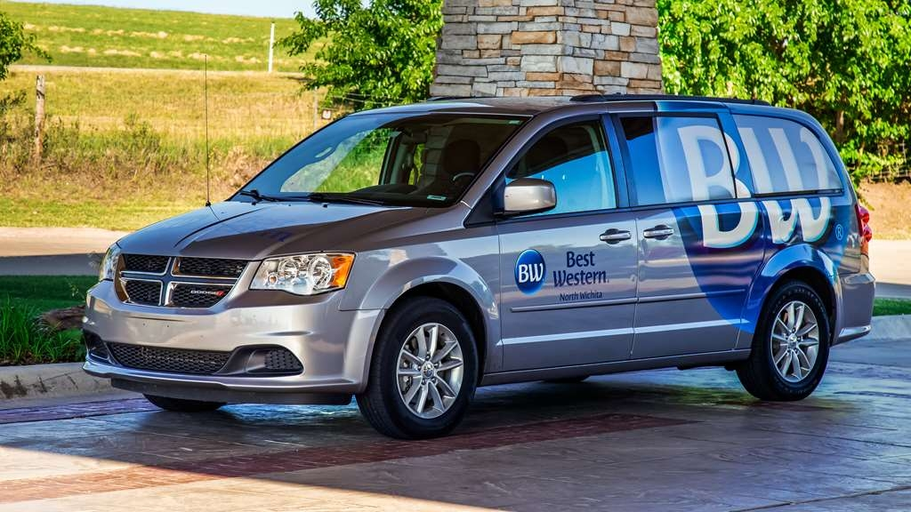 Best Western Wichita North - Our shuttle goes to the airport free of charge!