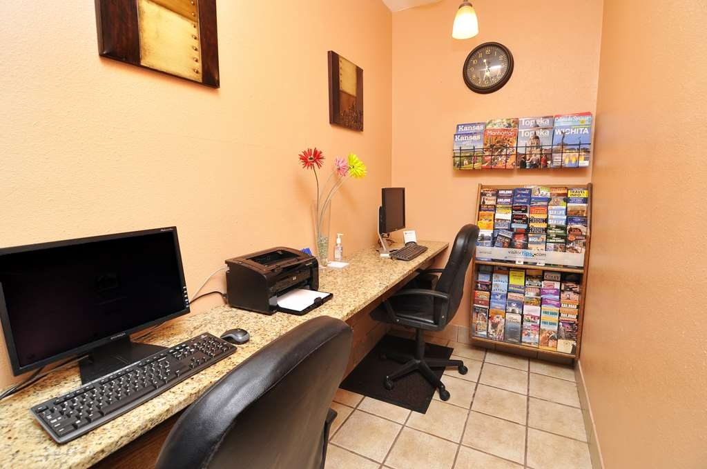 Best Western Topeka Inn & Suites - centre des affaires