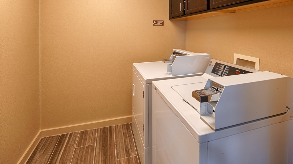 Best Western Governors Inn & Suites - On-Site Guest Laundry
