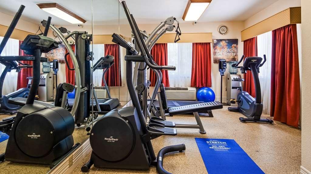 Best Western Parsons Inn - Fitnessstudio