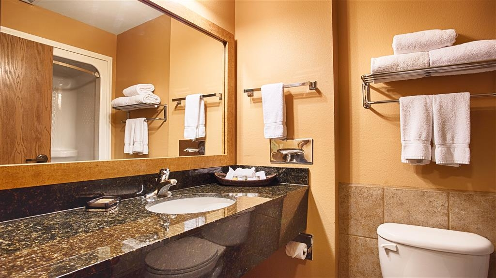 Best Western Plus Country Inn & Suites - Badezimmer