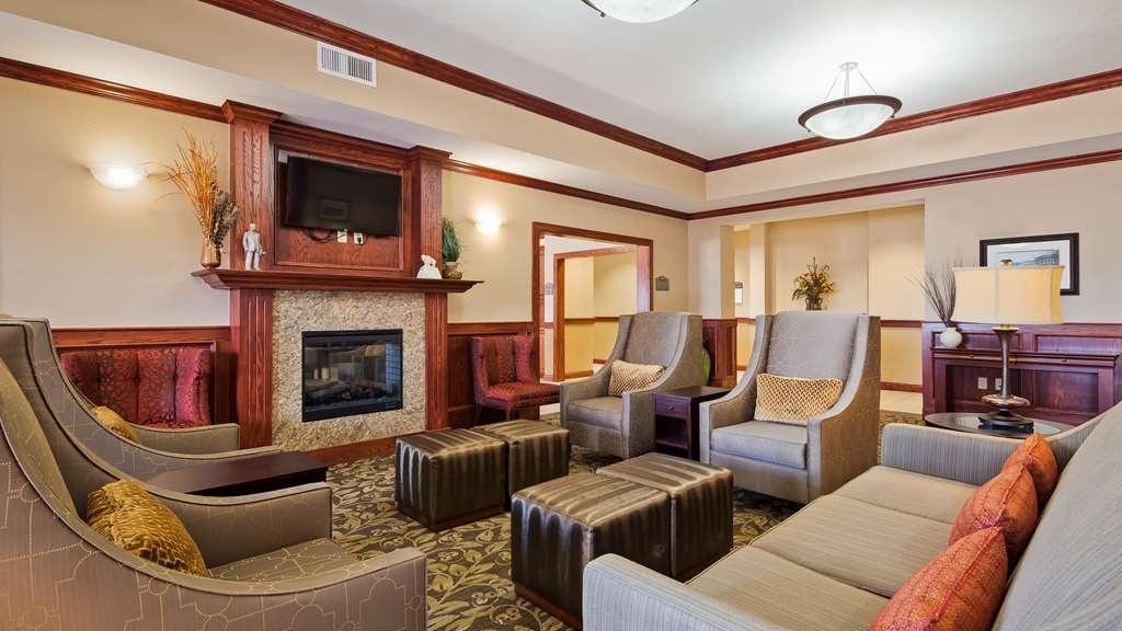 Best Western Plus Butterfield Inn - Vue du lobby