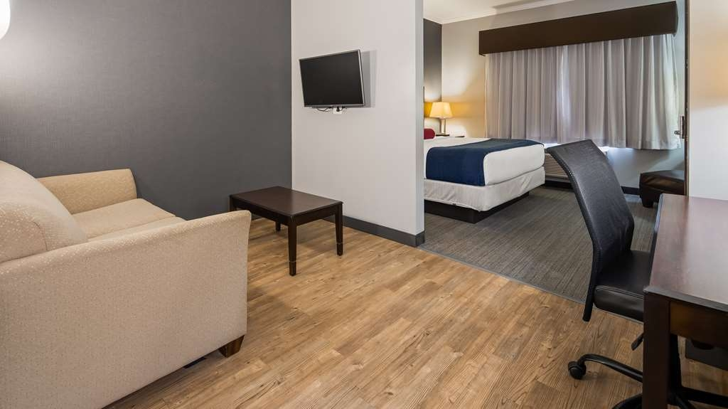 Best Western Plus Olathe Hotel - Our rooms are great for both business and leisure travel.