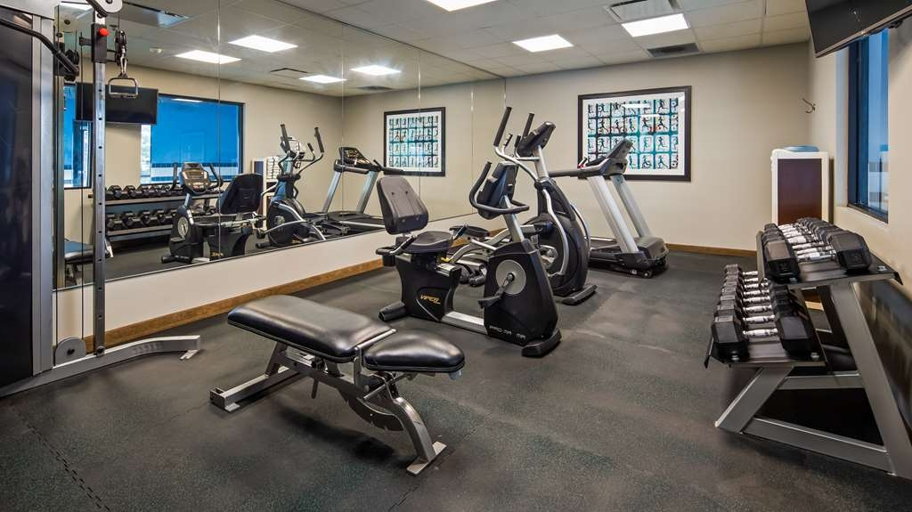 Best Western Plus Olathe Hotel - Our fitness center is outfitted with everything you need for a great workout.