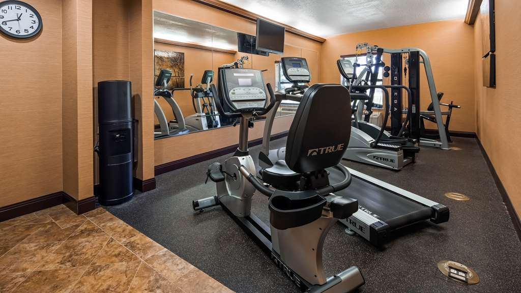 Best Western Plus Midwest Inn & Suites - Fitnessstudio