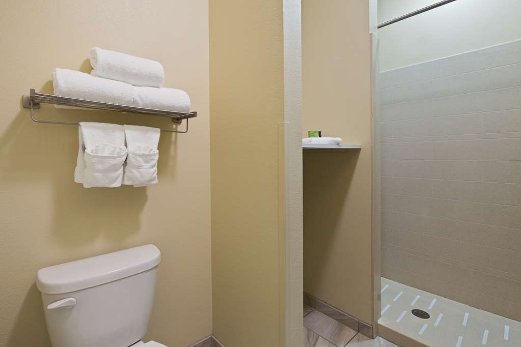 Best Western Plus Patterson Park Inn - When you stay in our king shower room, you will have your own walk in shower.