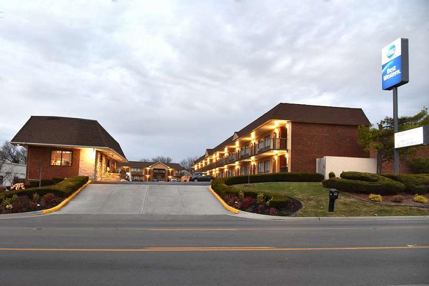Best Western Winchester Hotel - Aussenansicht
