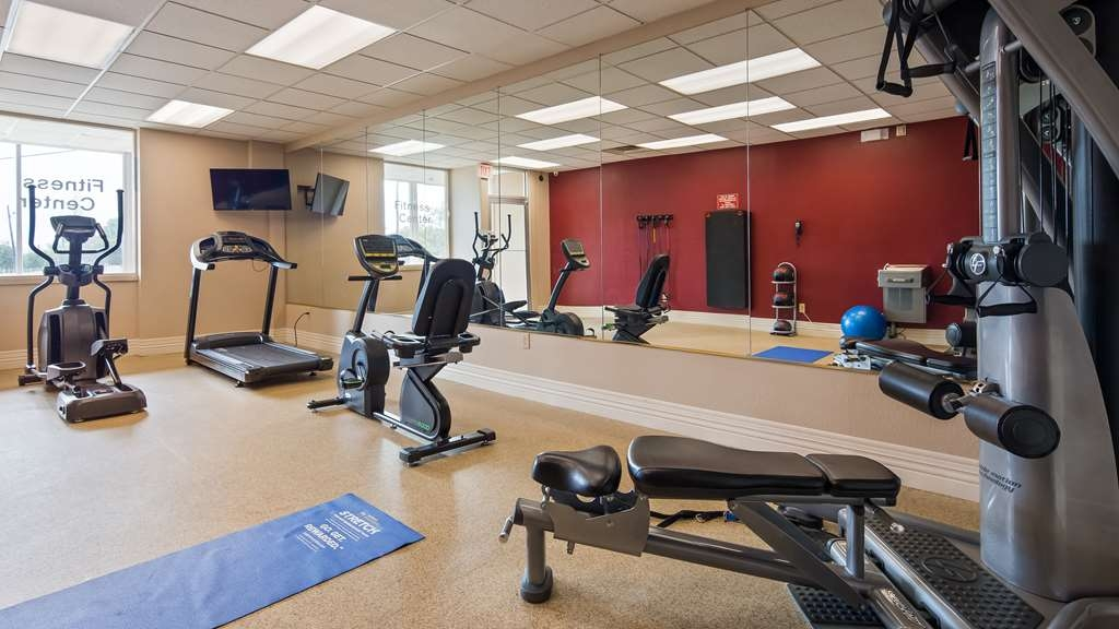 Best Western Richmond Hotel - Fitnessstudio