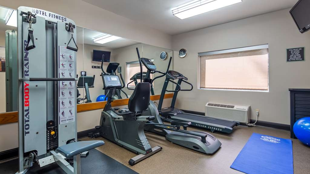 Best Western River Cities - No need to take a break from your fitness routine when you stay with us.