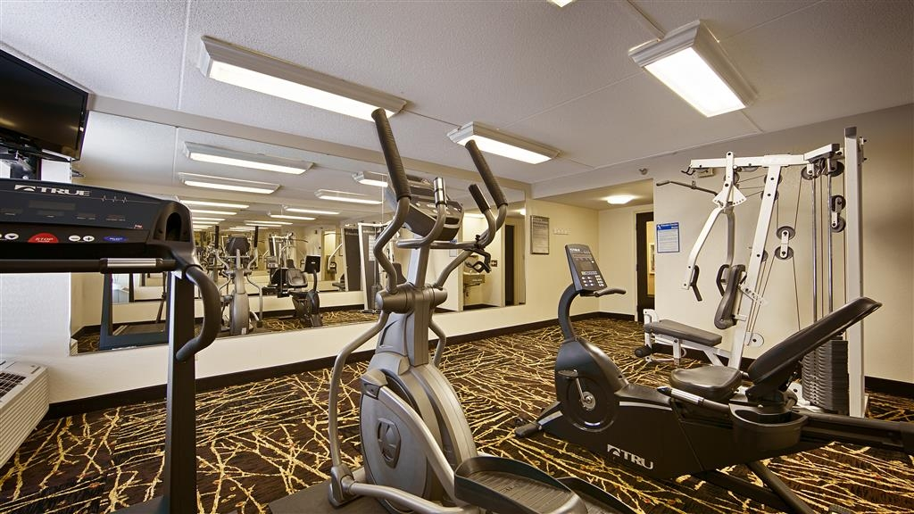 Best Western Ashbury Inn - Fitnessstudio