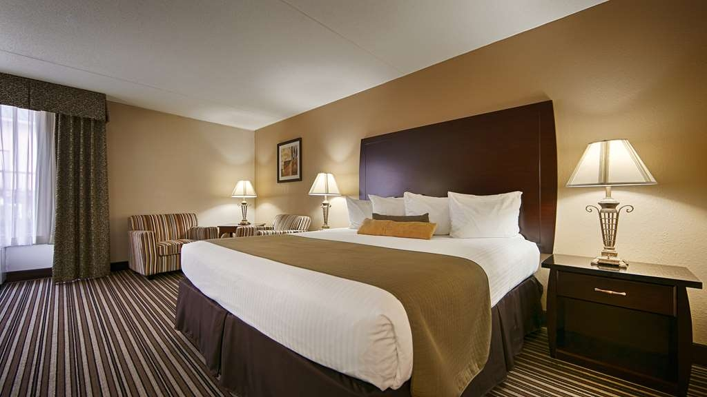 Best Western Ashbury Inn - We offer a variety of king rooms from standard to mobility accessible.