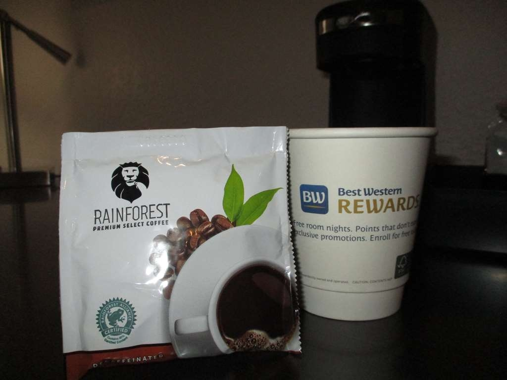 Best Western Plus Owensboro - Enjoy a hot cup of coffee without leaving your room