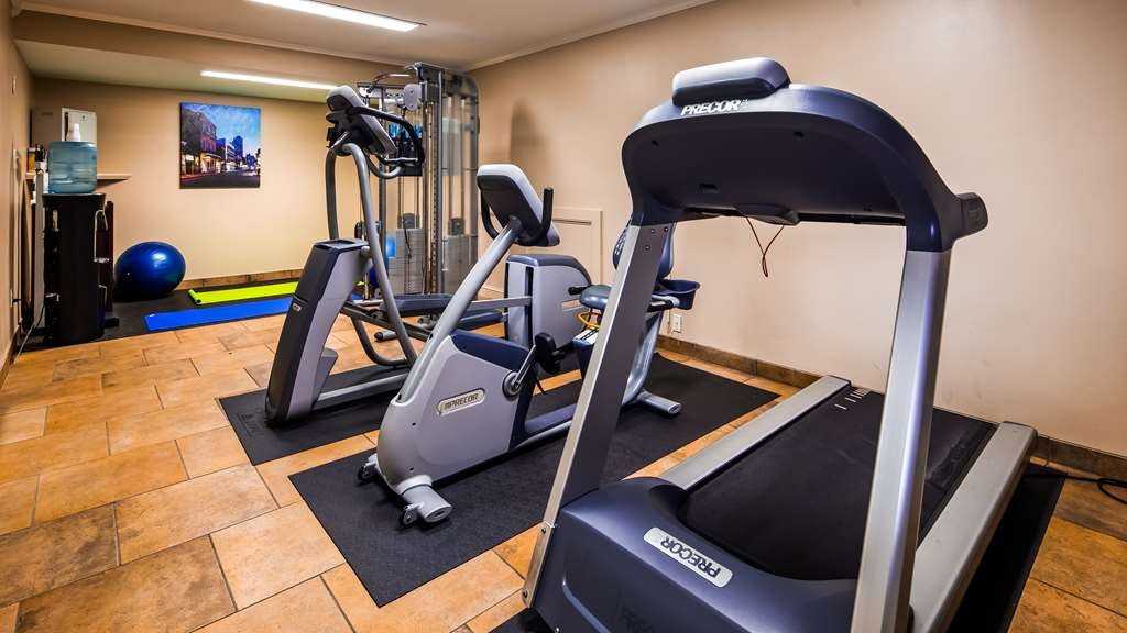 Best Western Plus Westbank - Our fitness center has a treadmill, elliptical, and bike so you won't miss a cardio work out.