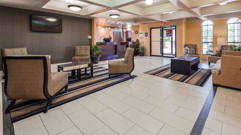 Best Western La Place Inn - Vista del vestíbulo