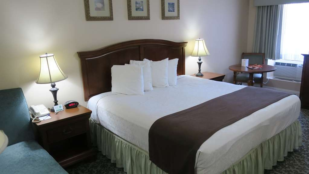 Best Western Plus French Quarter Landmark Hotel - Stretch out and relax in our interior king bedroom.