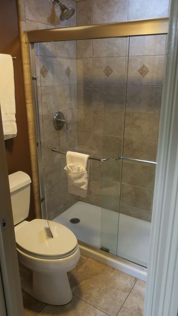 Best Western Plus French Quarter Landmark Hotel - Enjoy this stand-up shower in all exterior rooms.