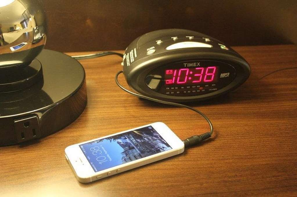 Best Western Plus Slidell Hotel - Here from out of town and need to use your phone as an alarm? We offer a convenient port on our night stand.