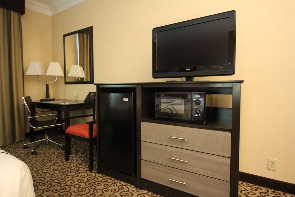 Best Western Plus Slidell Hotel - Free wired and wireless high-speed Internet, mini refrigerator, microwave, flat panel TV and in-room safe.