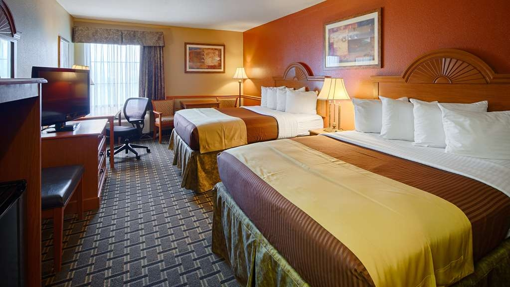 Best Western Zachary Inn - Two Beautiful queen beds for you and your family