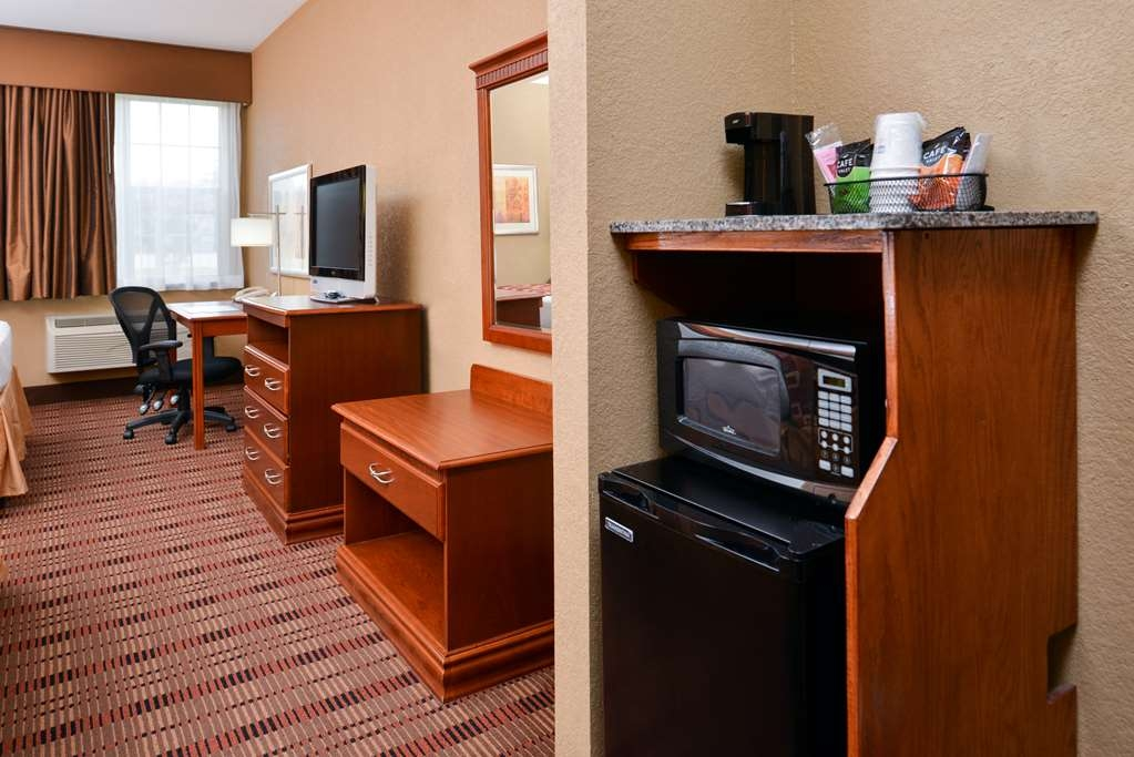Best Western Plaquemine Inn - habitación de huéspedes-amenidad