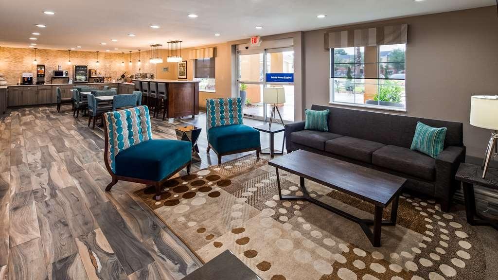 Best Western Lafayette Inn - Vue du lobby