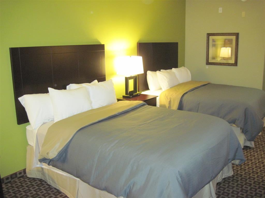 Best Western Plus Chalmette Hotel - Bringen Sie Ihre ganze Familie mit und buchen Sie unser Gästezimmer mit zwei Queensize-Betten.