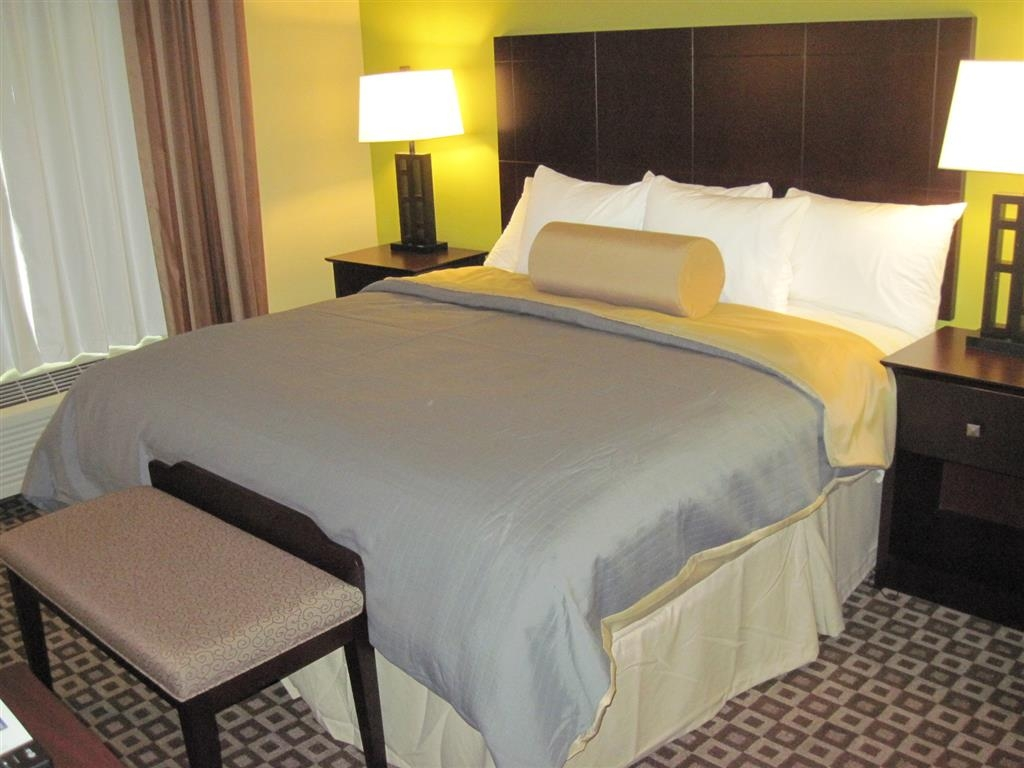 Best Western Plus Chalmette Hotel - Sink into the comfort of our pillow top mattresses in our king guest suite.