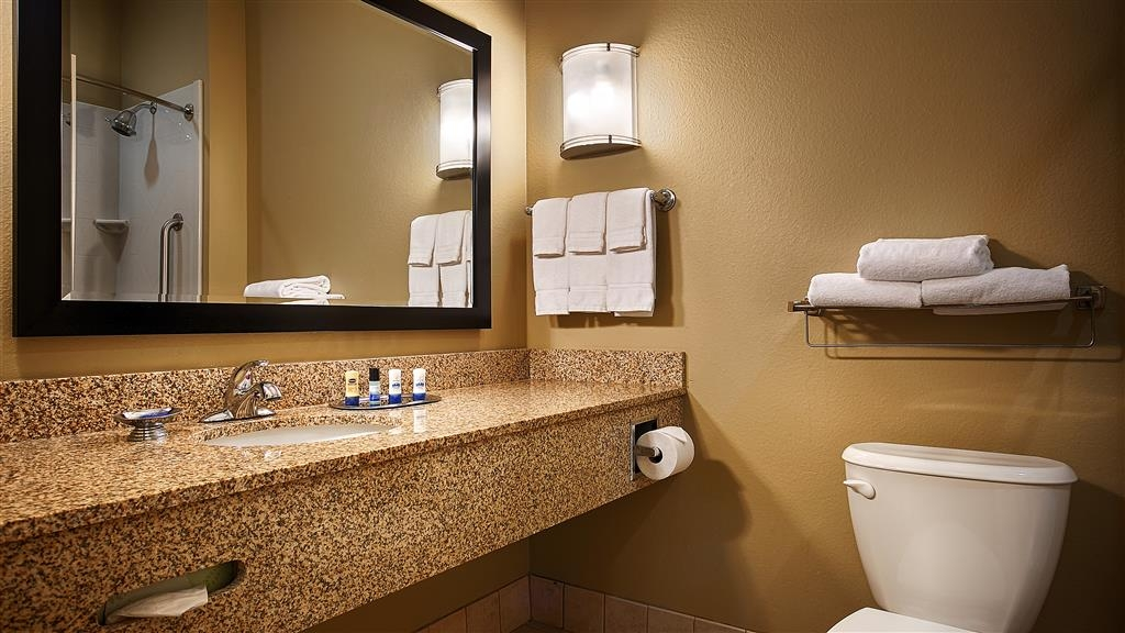 Best Western Plus Chalmette Hotel - Hair dryers provided in all rooms.