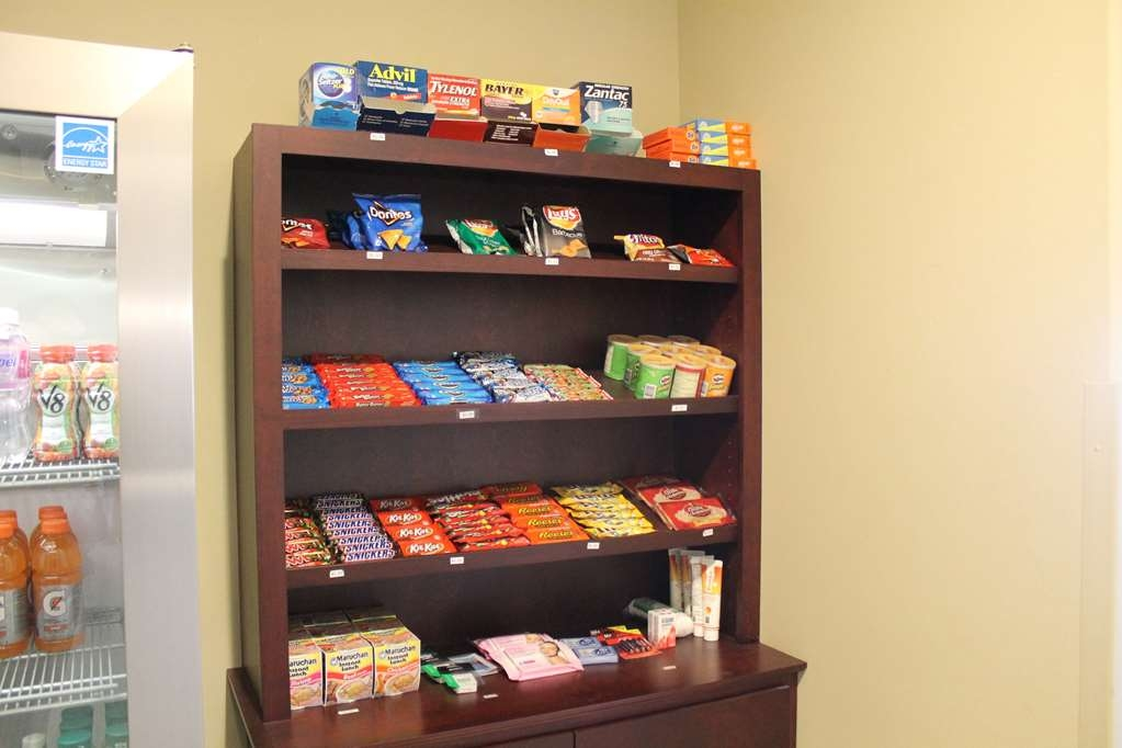 Best Western Plus Chalmette Hotel - Stop by the Sundry Shop to purchase snacks, medicine, laundry detergent, phone chargers, and personal hygiene items!